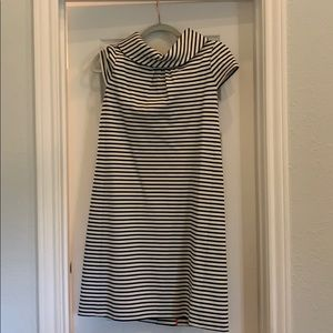 Kate space black and white stripe dress size small